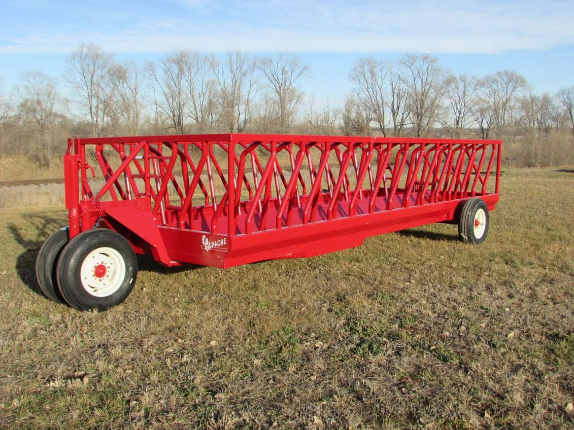 scientific wagon hay pipe m steel gobob feeder and